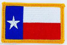 Ecusson Brodé PATCH drapeau TEXAS USA AMERICAIN ETATS UNIS FLAG EMBROIDERED