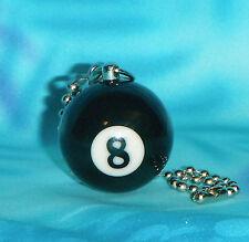 8 Ball Pool Billiard ~ Ceiling Fan Pull Chain ~ Great Gifts!