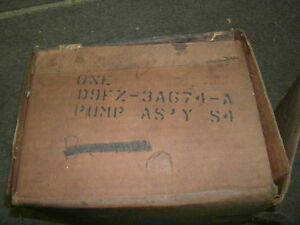 NOS 1979 1980 FORD PINTO POWER STEERING PUMP NEW OEM