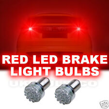 24 LEDS 360° RED LED STOP BRAKE LIGHT BULB BULBS X2