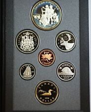 1990 Canada Proof Set- 300th Anniversary Henry Kelsey Exploration- w/Box & COA