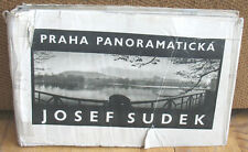 Josef Sudek Praha Panoramaticka Original 1959 Gravure Prague Dust Jacket HC