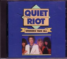 QUIET RIOT Winners Take All CD Greatest 80s Rock PARTY ALL NIGHT METAL HEALTH
