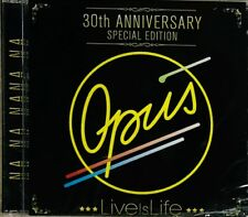 Opus, Live is Life 30th Anniversary 2CDs New, Sealed