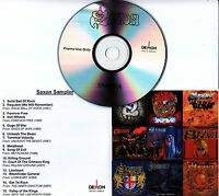 SAXON Eagles And Dragons Sampler 2016 UK 15-track promo only CD