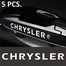 Chrysler Stickers decals for Door Handles 300C 300M Concorde Crossfire Grand