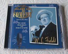 W C Fields - The Golden Age Of Comedy -  Scarce Mint Cd Album - Don Ameche