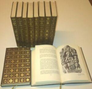 LES GRANDES RELIGIONS DU MONDE complet 10 vol. Cercle du Bibliophile 1966