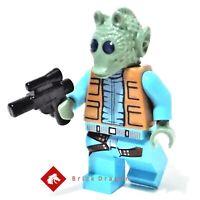 LEGO Star Wars Greedo minifigure from set 75052