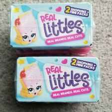 SHOPKINS SEASON 12  REAL LITTLES LOT OF 2 BLIND BASKETS
