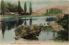 CPA Besancon - Les Rochers dans le Doubs, au bas ed Chaudanne (366007)