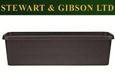 Stewart Garden Products 40x17x12.5cm Black Terrace Trough Plant Pot