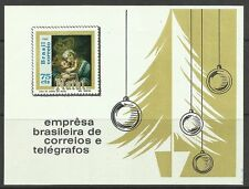 BRAZIL. 1969. Christmas Miniature Sheet. SG: MS1280. Unused
