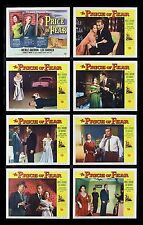THE PRICE OF FEAR * CineMasterpieces MOVIE POSTER LOBBY CARD SET 1956 NM-M