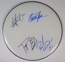 """FOGHAT Signed Autograph 12"""" Drum Head Drumhead by All 4 Members"""