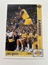 James Worthy 1991 Upper Deck #146 Los Angeles Lakers NBA