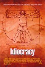 IDIOCRACY Movie POSTER 27x40 Luke Wilson Maya Rudolph Dax Shepard Eric Anderson