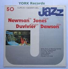JOE NEWMAN / HANK JONES / GEORGE DUVIVIER / ALAN DAWSON - Ex Con LP Record