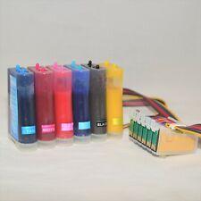 6 Colors Cotton Sublimation Ink System CIS CISS alternative for
