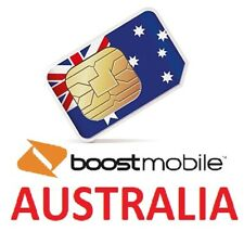 BOOST MOBILE AUSTRALIA SIM CARD cheap rates for travelers! (delivery from EU)