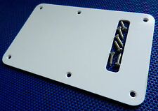Vintage 50s Classic Player Fender Stratocaster Strat TREMOLO COVER White 1 Ply