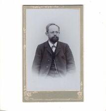 CDV Foto Herrenportrait - um 1900