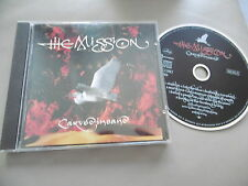 THE MISSION : CARVED IN SAND CD ALBUM MERCURY 842 215-2 10 TRACKS
