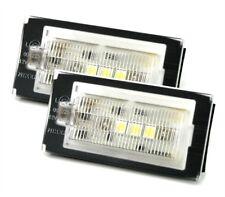 LED Kennzeichen Beleuchtung mit 3 LED CAN BUS für BMW 3er E46 Coupe Cabrio