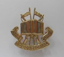 BRITISH ARMY CAP BADGE. ROYAL ARMY EDUCATION CORPS.