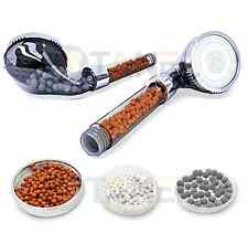 Cabeza de ducha de Mineral-Super Alta Presión Turbo bolas de Filtro de Energía Booster