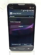 LG Optimus Exceed 2 LG-VS450PP 4GB Verizon Black Good Condition Factory Reset
