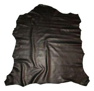 Thin 2 oz Black Economy Sheepskin Leather Hide Pelt Bookbinding Bible