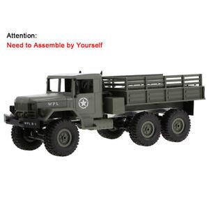 WPL B-16K 1/16 Military Truck RC Car 6WD Crawler w/ Motor Servo KIT Version Z4X8