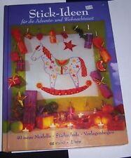 OZ Verlag 3813 Stick-Ideen für Advents- und Weihnachtszeit Stickschule