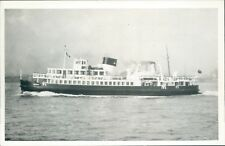 Postcard shipping Mersey Ferry Egremont II Friends of the Ferries card unposted