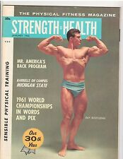 Strength & Health Bodybuilding Muscle Builder Magazine/Ray Routledge 1-62