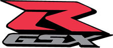 "#586 (1) 3"" Suzuki GSXR Racing Race Bike Custom Decal Sticker LAMINATED RED"