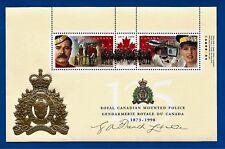 "CANADA Canadian .45 cent postage stamps souvenir 4"" X 6"" sheet RCMP MNH"