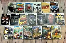 Lot Of Wii Games, Nintendo Wii, Wii, (You Choose)