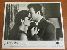 Vtg Glossy Press Photo Robin Tunney & Christian Slater Star in Julian Po 1997 #2