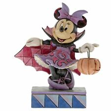 Disney Traditions 6000949 Violet Vampire Minnie Mouse Halloween Figurine