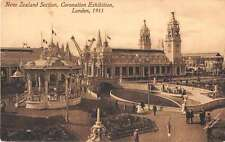 London England Coronation Exhibition New Zealand Section Postcard J53360