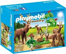 Playmobil 6817 Country Forester's Stag Set with Deer Family