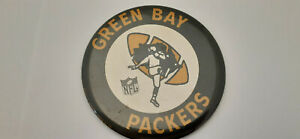 1 x Vintage - Late 60's/early 70's - Green Bay Packers - NFL - Pin Back Button