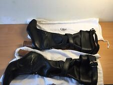 Chloe Designer Black Knee High Boots, Size  37, Uk 4, Gorgeous!