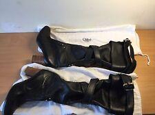 Chloe Designer Noir Bottes Hautes, Taille 37, UK 4, magnifique!