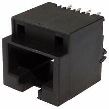 5x connecteur prise fiche RJ45 Ethernet réseau 8pin 8p8c à souder pour CI THT