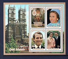 Cook Islander Sheet Stamps