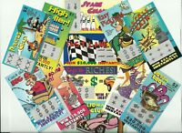12 FaKe GaG JoKe PrAnK LoTTo LoTTeRy TiCkEtS Special Price $4.49  *FREE Shipping