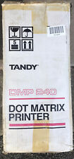 Vintage Tandy Dot Matrix Printer DMP 240 in box . VERY GOOD CONDITION